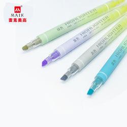 도매 다중 색깔 소형 하이라이트 고정되는 하이라이트 펜