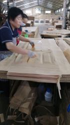 2.7, 3, 4 [8509207502150مّ] تجاريّة خشب رقائقيّ باب جلد, [مدف] باب جلد, قشرة باب جلد