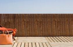 Rete fissa di bambù del bastone del mestiere a lamella ecologico a lamella naturale per il giardino della decorazione