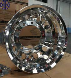 9.00x22,5 22,5 polegadas forjadas polido do barramento do carro para a descarga de réplica brilhante OEM da marca em alumínio de liga a roda da RIM