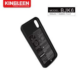 دعم كبير لشاحن بطارية iPhone X حقيبة 3600 مللي أمبير/ساعة طويلة علبة غطاء محمولة Power Pack مدمجة في طاقة USB القدرة المصرفية ضعيفة