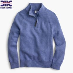 Детские хлопок кашемир половина молнией дизайн зимой трикотажные Pullover детей свитер для малыша мальчиков