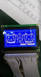 小型のブルーグレー128X64 128*64のドットマトリックスの穂軸LCDのモジュール