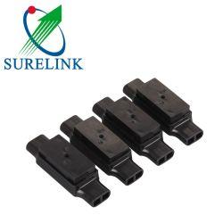 Connecteur noir du connecteur de fil électrique chute Inline Udw2