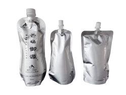 Water-Proof gelatina líquida envasado de agua de bebida de jugo de descarga de Stand up Pouch bolsa