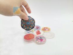 Nano Ticker aspiración universal de la magia de la almohadilla de gel pegajoso Radioteléfono soporte para pegar nada en cualquier lugar
