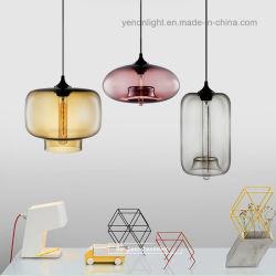 Nuevo DIY Colgante de Cristal de la barra de la lámpara de iluminación LED de luz colgantes