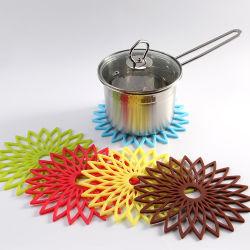 Nahrungsmittelgrad-Platz-Matten-Silikon-Cup-Matten-Tisch-Schutz-Matte