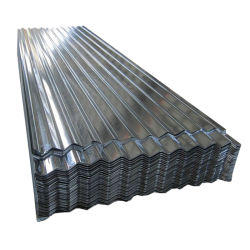 Baumaterial Galvalume Wellblech Verzinktes Zink-Dachblech Stahldachblech