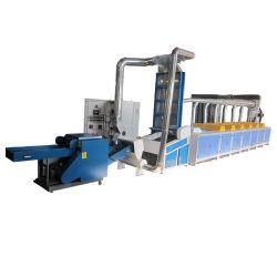 Rd Factory elevada saída marcação Não Tecidos Resíduos têxteis máquina de reciclagem de abertura para fios Tearig/Roupas /Algodão /Jeans /Garment /Juta/Jeans /T-shirt /Artigos/fibra