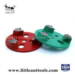 Rundform Schleifscheiben Werkzeuge Betonboden Diamantschleifschuhe