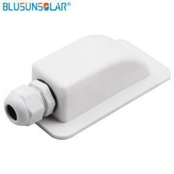 Un solo orificio de montaje en panel solar ABS spoiler de techo Montaje Prensaestopas Spzial Guía para caravanas