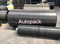 Control de malezas negro Mat Anti-Grass tierra cubierta de PVC resistente al agua para el efecto invernadero de jardín