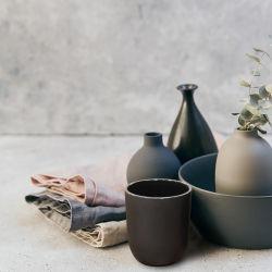 最もよい価格の黒にガラス蝋燭の瓶をする蝋燭のホーム装飾の空ガラスのためのガラス蝋燭ホールダー