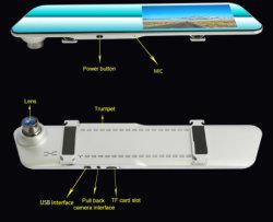 140 brede Hoek Videocamera van de Auto van het Streepje van de Mening van de Sensor van 2.5 G de Beste Achter met de Wijze van het Parkeren