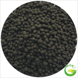Fertilizante biológico granular con Bio ácido húmico, Bio Fulvic Acid, NPK orgánico