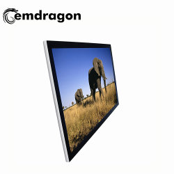 49 بوصة Ultra-Thin Wall Mount Digital Signage Kiosk Digital Ad Display Parks Ad Player LED Video Surveilling sursents for CCTV Digital Signage