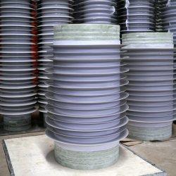 La mayor ventaja de precio de fábrica del proveedor 11-1100Modelo kv de polímero de alto voltaje compuesto aislante de la suspensión de caucho de silicona