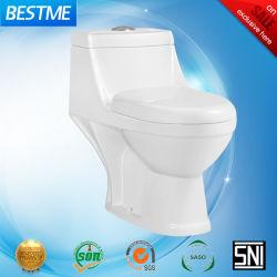 الحمام الصحي الاقتصادي Ware One PC السيراميك مرحاض (BC-1308)