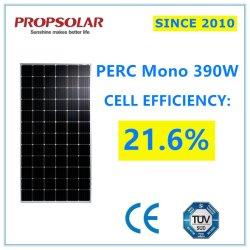 لوحة Solar Regulator أحادية البلورات عالية الكفاءة موثوق بها بقوة 390 واط