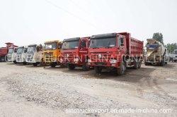 Sinotruck HOWO 6X4 используется Самосвал/самосвал погрузчик для продаж/Dumper грузовиков