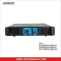 amplificador de potencia de la serie 2u Precio de KTV amplificador de potencia 2X600 Vatios AC6 AC9 AC12 Ca18 CA20