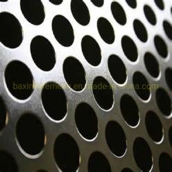 das 1mm Loch-galvanisiertes/perforiertes Metallaluminiumineinandergreifen überzieht Lautsprecher-Gitter, perforiertes Metallbildschirm-Tür-Ineinander greifen