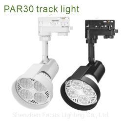 35W PAR30 voie lumière 110V 220V E26 E27 3000K 4000K 6000K 8000K 10000K 12000K RoHS ETL Voie Spotlight LED à gradation PAR30