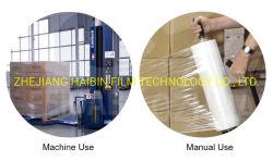 Les ventes à chaud 25 microns bonne propriété de Patinage chaud Film rétractable PVC transparent