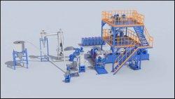 シランXLPE - Skw-125を機械で造らせる押出機に低く、中型の電圧かXindaまたは混合物