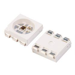 سعر جيد 6 نقاط تثبيت Sanan Sk9822 Apa102c IC 0.25 واط 5050 شريحة LED RGB