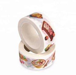 인쇄 로고 새 제품 장식용 종이 접착 테이프