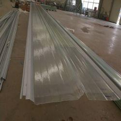 Corrugado plástico compuesto de fibra de vidrio de 2,0 mm para las hojas de impermeabilización de cubiertas FRP