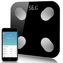 Nuova Digital stanza da bagno elettronica di carico solare di Lokkang che pesa la scala 2020 del grasso di corpo