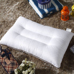 Fiber Filling를 가진 45X70cm Quilted Polyester Pillow
