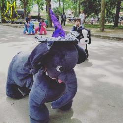 Hansel Noël Kids -adultes Ride sur l'animal éléphant d'animaux pour la vente de jouets