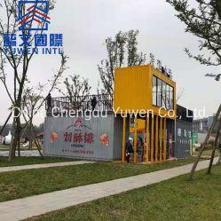 Современные мобильные стальные конструкции контейнер дом магазин для африканского рынка