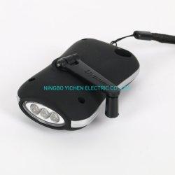 Dínamo Lanterna sabugo Melhores próximos Manivela Dínamo lanterna LED de exterior Camping