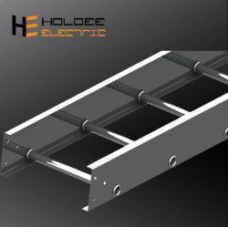 China Offshore Industrial&Buque Marine HDG montado recto de aluminio de acero eléctrico amplia gama de bandeja portacables soportes metálicos de la bandeja de cable de alimentación de plata