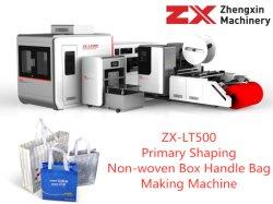 Caixa da alavanca não tecidos eficiente máquina de fazer o saco com ultra-som (ZX-LT500)