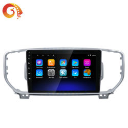 Lettore DVD stereo dell'automobile di WiFi di musica della fabbrica del sistema di multimedia di percorso radiofonico Android di GPS per KIA
