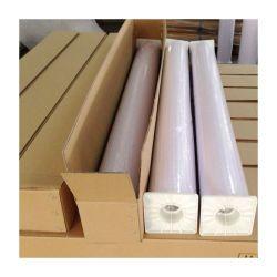 PVC白い印刷できる光沢のあるビニールの屋外広告のための防水光沢のあるステッカーのペーパー