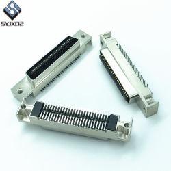 Соединительный кабель SCSI Cn 50pin штекер для данных сигнальный провод металлическую заглушку