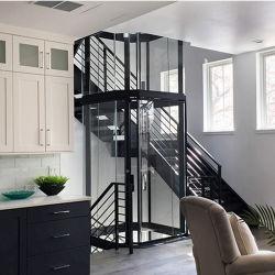 Delicado panorámico de cristal de elevación Casa Residencial Villa ascensor