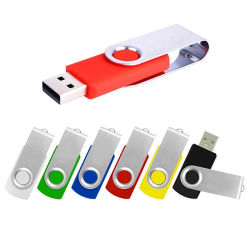 محرك أقراص فلاش Swivel الترويجي USB محمول محرك أقراص محمول رخيص سعة 2 جيجابايت 4G 8 غيغا