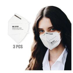 セリウムKn95マスクが付いている準備ができた郵送物の大きさの表面使い捨て可能な麝香