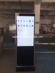 49 polegadas LCD Publicidade Leitor de Tela/Piscina Digital Signage/piso interior permanente LCD Publicidade
