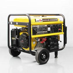 Bison 5kw 3kw Uso en el Hogar Generadores Portátiles Pequeños de Gasolina / Gasolina Refrigerados por Aire de Honda