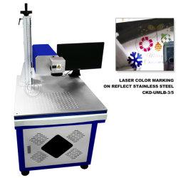 machine de marquage au laser UV pour le verre de l'impression couleur en acier inoxydable Miroir marque cristal Gravure d'or