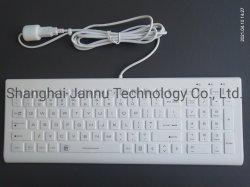 卓上医療グレードシリコンゴム製衛生コンピュータ防水キーボード